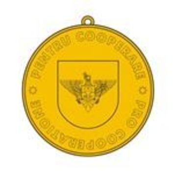 Medal for Cooperation Reverse