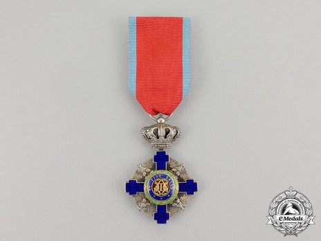 The Order of the Star of Romania, Type II, Civil Division, Knight's Cross Obverse