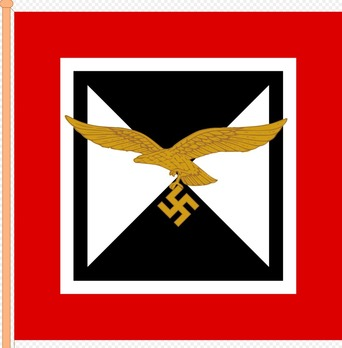Command Flag of the Luftwaffe Chief of General Staff Obverse
