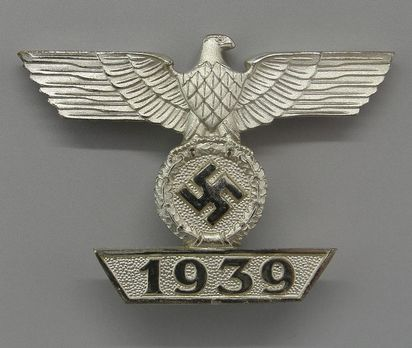Clasp to the Iron Cross I Class, Type II, by H. Wernstein (L/17) Obverse