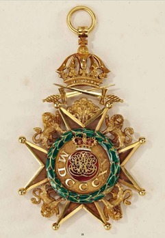 Royal Guelphic Order, Grand Cross with Swords