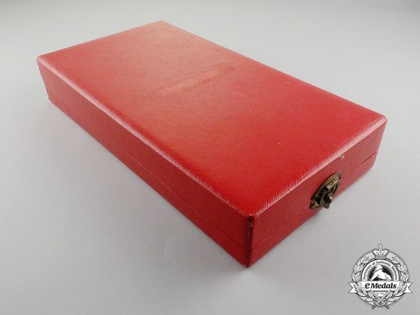 Order of Mono, Grand Officer Case of Issue
