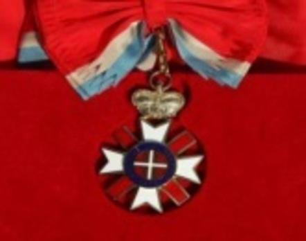 Order of Stretenjski, I Class Obverse