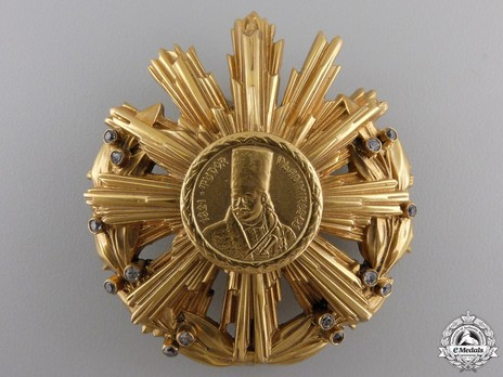 Order of Tudor Vladimirescu, I Class Breast Star (for Foreigners) Obverse