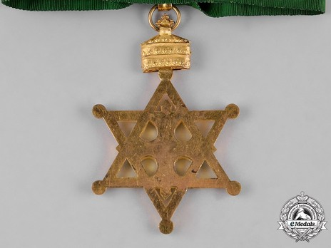 Order of Solomon's Seal, Commander Reverse