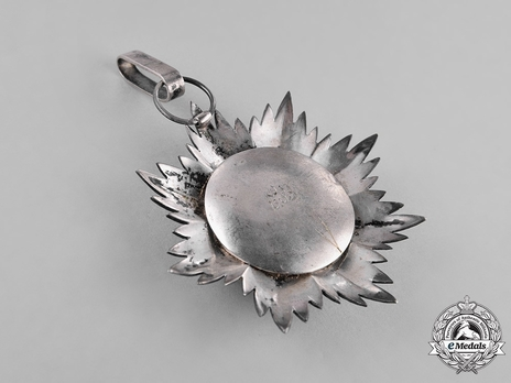 Order of Omayyad (Ummayad), I Class Grand Cordon Reverse