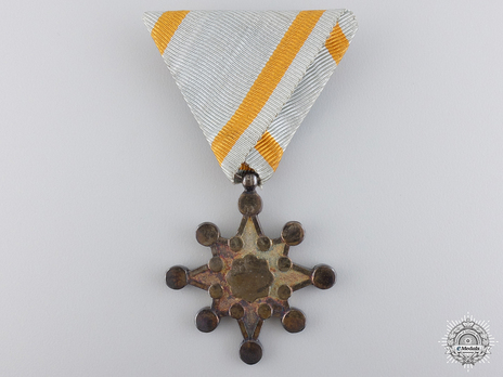 Order of the Sacred Treasure, VII Class Obverse