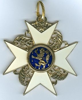 Order of the Golden Lion of the House of Nassau, IV Class Knight (1873-189