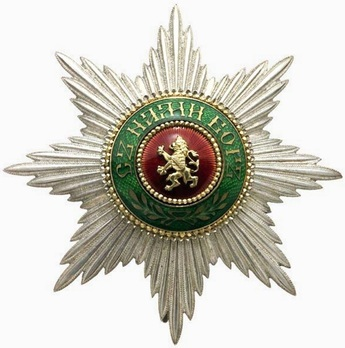 I Class Breast Star (with swords) Obverse