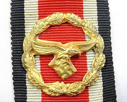 Honour Roll Clasp, Luftwaffe/Air Force Obverse