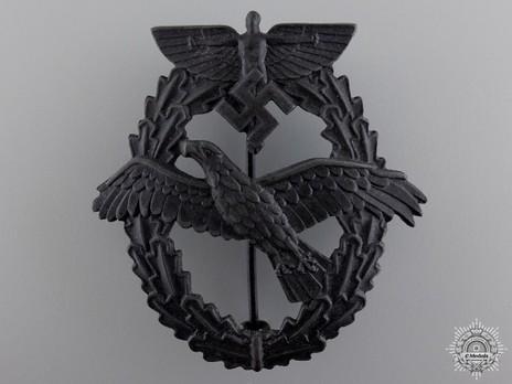 NSFK Motor Pilot's Badge, Type III Obverse