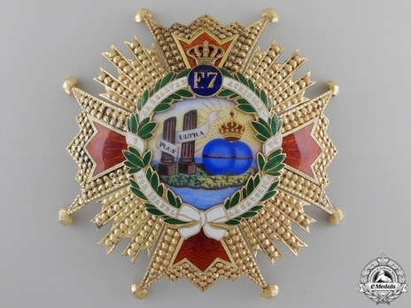 Grand Cross Breast Star (Gold) Obverse