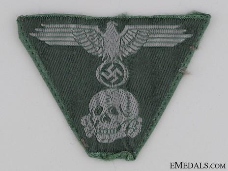 Waffen-SS One-Piece Eagle & Death's Head Insignia Obverse