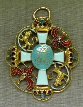 Order of Fidelity, Badge  (diamonds) Obverse