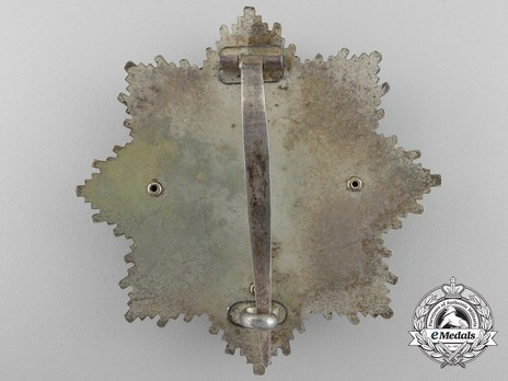 """German Cross, in Gold, by C. F. Zimmermann (""""20"""", cupal) Reverse"""