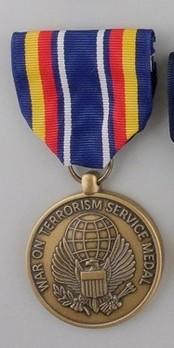 Global War on Terrorism Service Medal Obverse