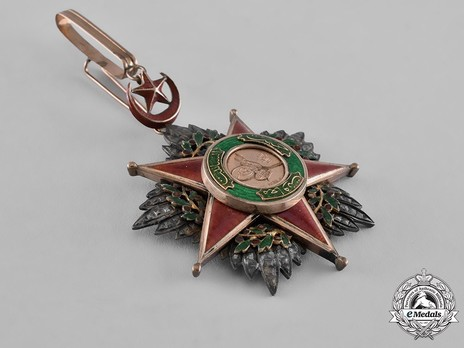 Order of Nishani-Shefkat, III Class Reverse
