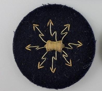 Kriegsmarine Officer's Wireless Operator Insignia Obverse