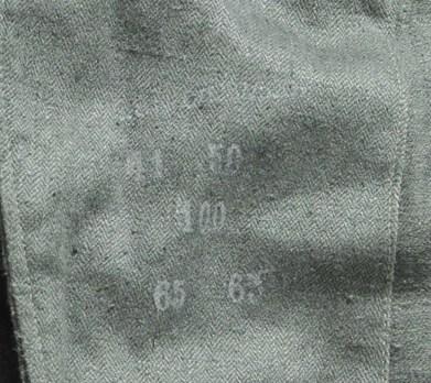 German Army Panzer Protective Jacket Maker Mark
