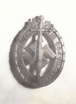 Coburg Honour Badge, in Silver Obverse