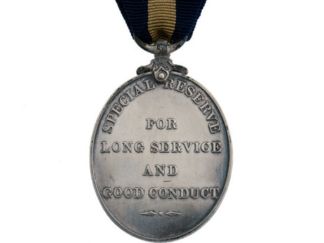 Silver Medal (with King Edward VII effigy) Reverse