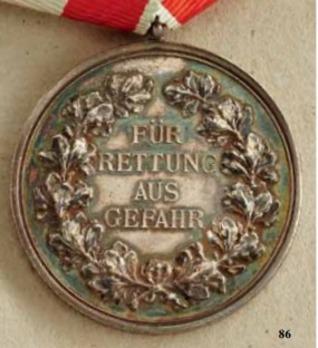 Life Saving Medal, Type II