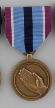Humanitarian Service Medal Obverse