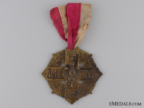 Cross for the Polish Soldiers of America (1920-1930) Obverse
