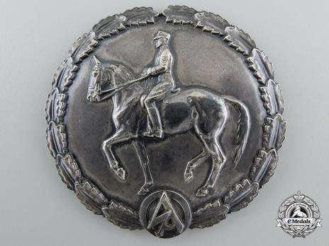 SA Expert Horseman's Badge Obverse