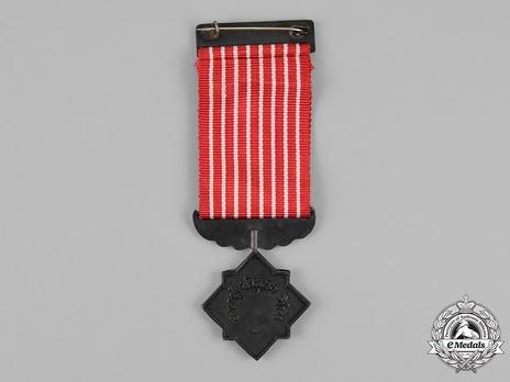 Safeguarding Bronze Medal (II Class) Reverse