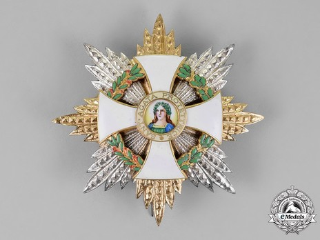Order of Saint Agatha, Grand Cross Breast Star Obverse