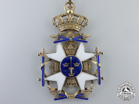 II Class Knight Grand Cross (with silver gilt) Obverse