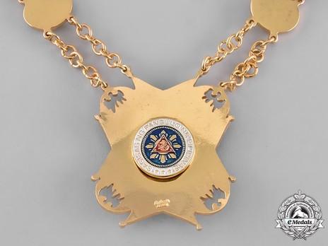 Order of the Golden Heart, Grand Collar Reverse Detail