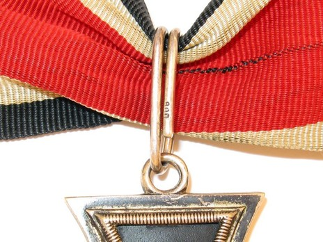 Knight's Cross of the Iron Cross, by C. E. Juncker (unmarked, non-magnetic) Detail