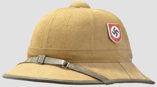 Waffen-SS Tropical Pith Helmet Profile