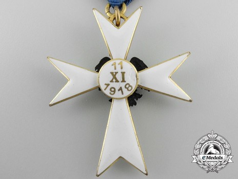 White Cross of the Estonian Defence League, III Class Reverse