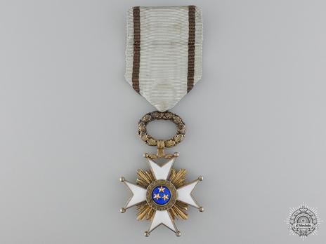 Order of the Three Stars, V Class Reverse