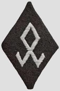 Allgemeine SS Race and Settlement Main Office Trade Insignia (Officer version) Obverse