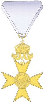 Order for Bravery, III Class Reverse