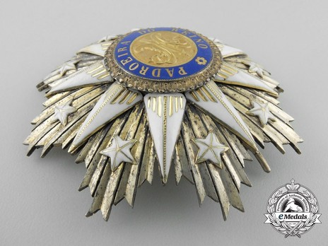 Commander Breast Star (Silver gilt and gold) Obverse