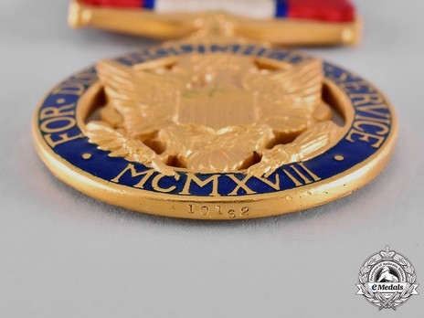 Army Distinguished Service Medal (Privately Engraved and Numbered) Rim