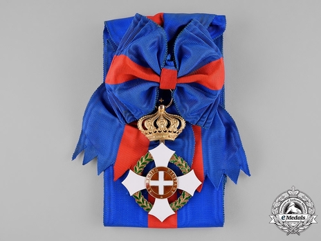 Military Order of Savoy, Type II, Grand Cross