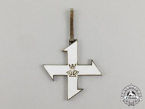 Order of the Queen Marie, I Class Cross Reverse