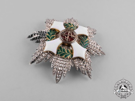 Military Order of Savoy, Type II, Grand Cross Breast Star Obverse