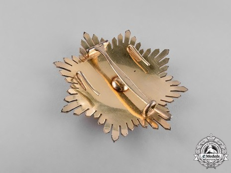 Order of Solomon's Seal, Grand Cross Breast Star Reverse