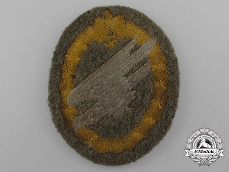 Army Paratrooper Badge, in Cloth Obverse