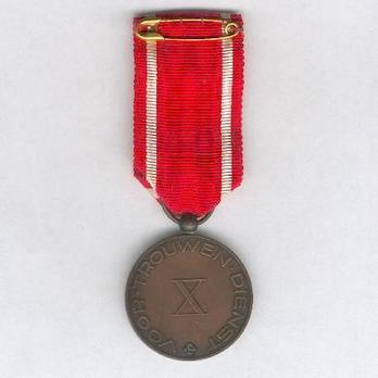 Red Cross Medal of Merit Reverse