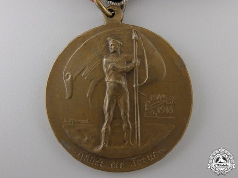 Medal for Valour in the World War, 1914-1918 (in bronze) Obverse