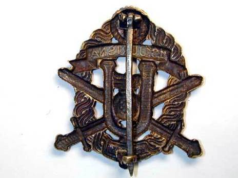 Bronze Badge Reverse