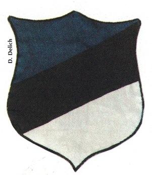 German Army Estonia Sleeve Insignia Obverse